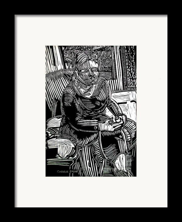 The Traveler Framed Print By Charlie Spear