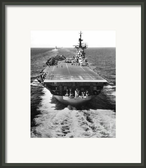 The U.s. Aircraft Carrier Uss Boxer Framed Print By Stocktrek Images