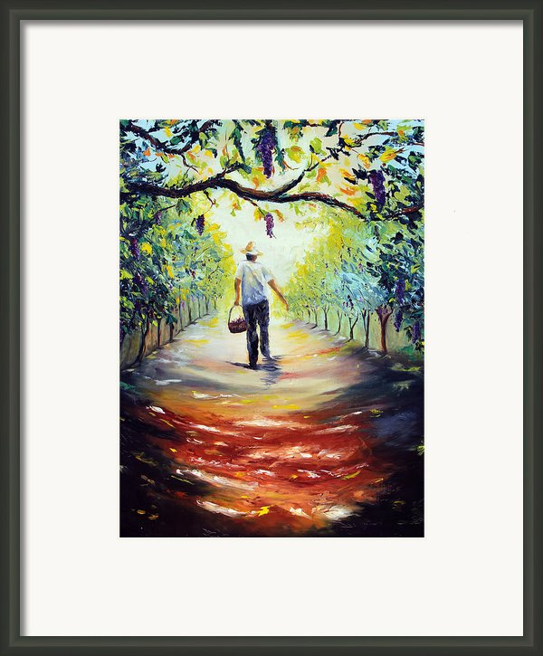 The Vintner Framed Print By Meaghan Troup