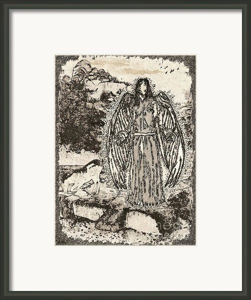 The Visitation Framed Print By Glenn Mccarthy Art And Photography