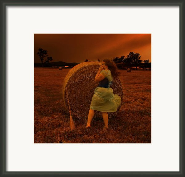 The Waiting Game Framed Print By Eating Strawberries