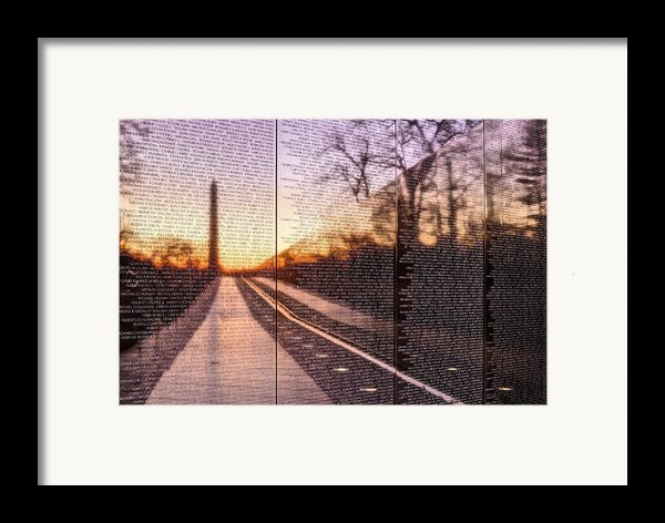 The Wall Framed Print By Jc Findley