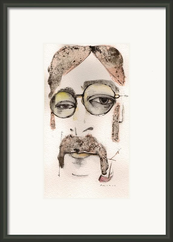 The Walrus As John Lennon Framed Print By Mark M  Mellon