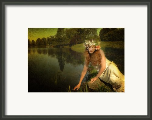 The Water Maiden Framed Print By Dick Wood