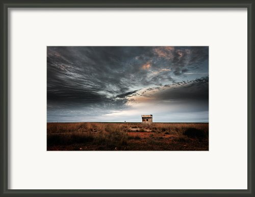 The Weighbridge Framed Print By Leah Kennedy