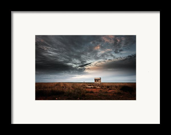 The Weighbridge Framed Print By Leah Kennedy