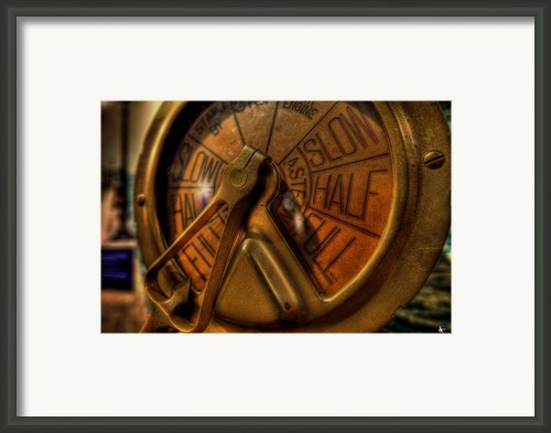 The Wheel Framed Print By Nicholas  Grunas