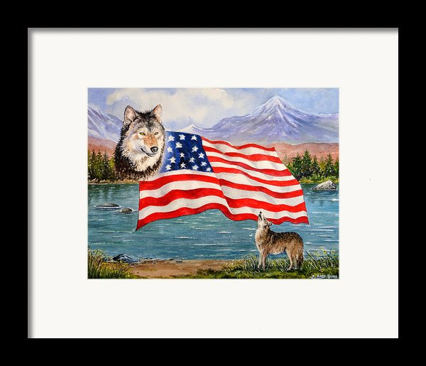 The Wildlife Freedom Collection 1 Framed Print By Andrew Read