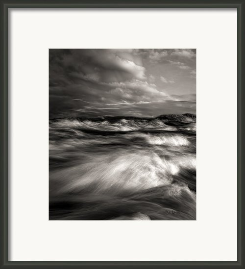 The Wind And The Sea Framed Print By Bob Orsillo
