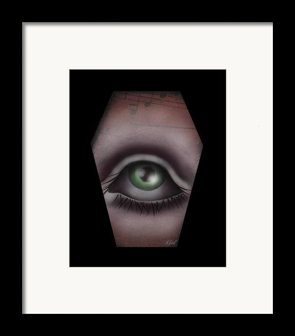 The Window Iii Framed Print By  Abril Andrade Griffith