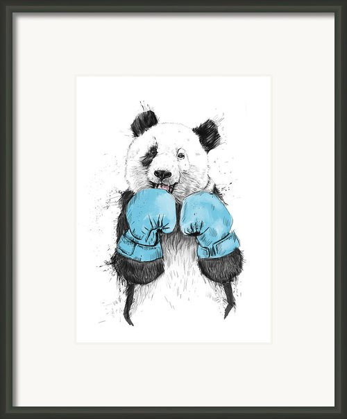 The Winner Framed Print By Balazs Solti