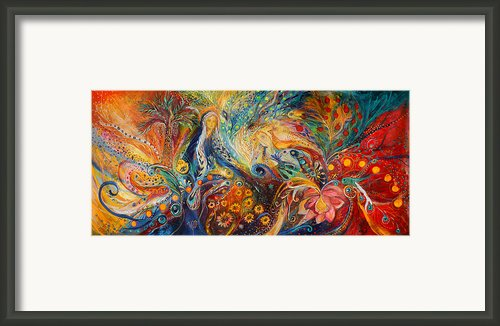 The Women Of Tanakh - Sarah Framed Print By Elena Kotliarker