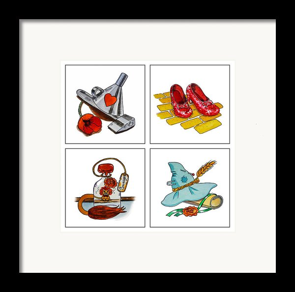 The Wonderful Wizard Of Oz Framed Print By Irina Sztukowski