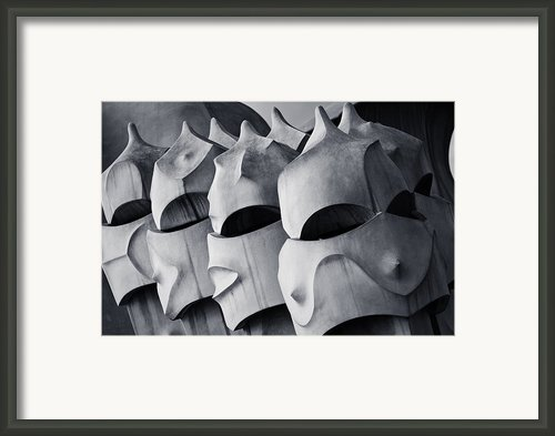 The World Of Gaudi Framed Print By Erik Brede
