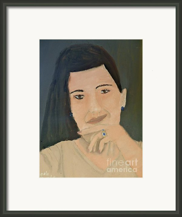 Thinking Of What To Do Next Framed Print By Pamela  Meredith