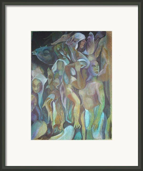Third World Incarnation Framed Print By Prasenjit Dhar
