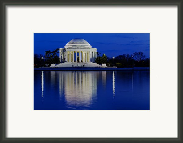 Thomas Jefferson Memorial Framed Print By Andrew Pacheco
