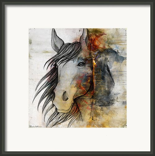 Thoroughbred Framed Print By Mark Ashkenazi