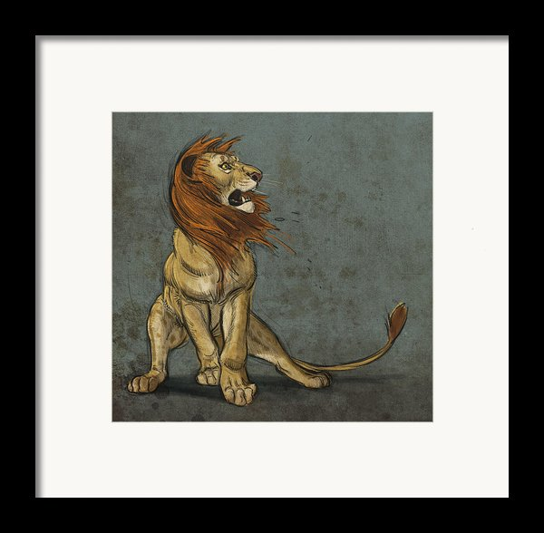 Threatened Framed Print By Aaron Blaise