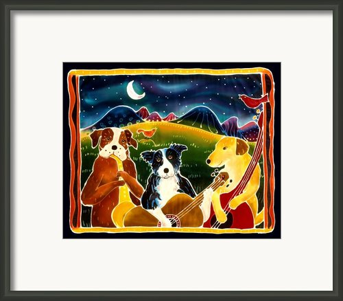 Three Dog Night Framed Print By Harriet Peck Taylor