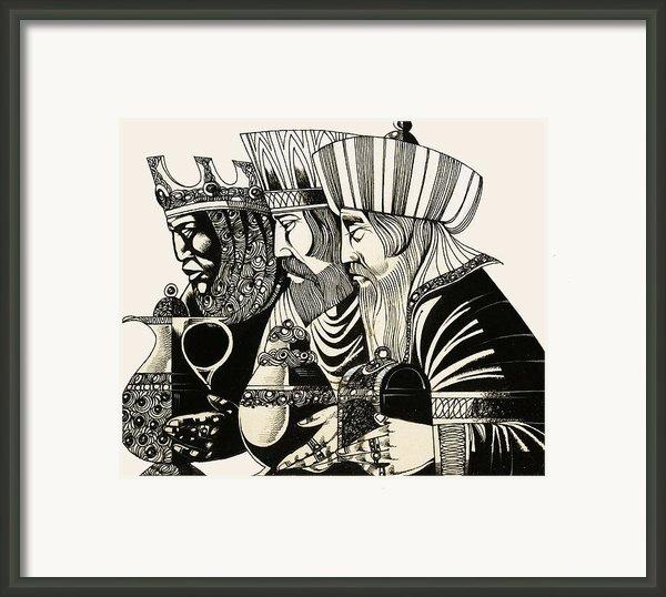 Three Kings Framed Print By Richard Hook
