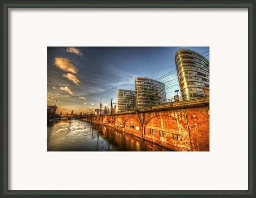 Three Towers Berlin Framed Print By Nathan Wright