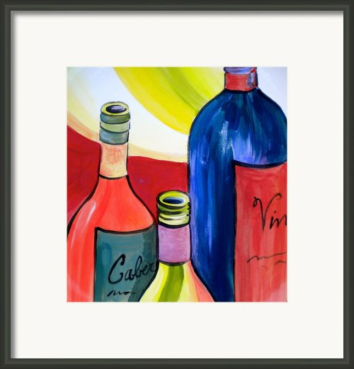 Threesome Framed Print By Debi Pople