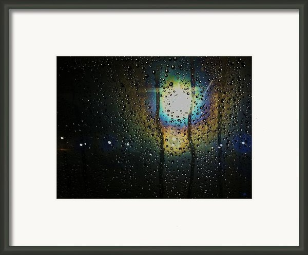 Through My Window Framed Print By Anna Villarreal Garbis