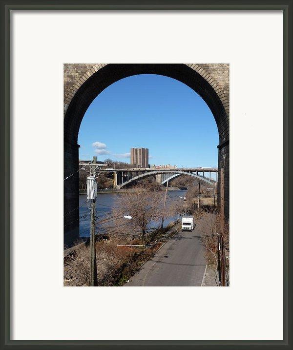 Through The Highbridge Framed Print By Steve Breslow