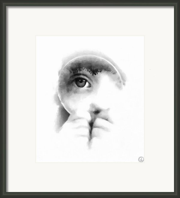 Through The Looking-glass Framed Print By Gun Legler