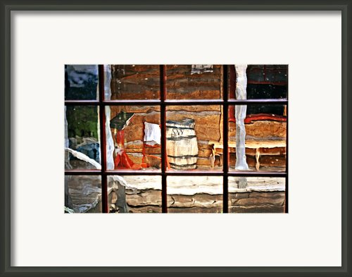 Through The Window Framed Print By Marty Koch