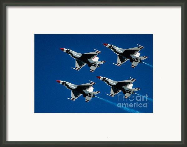 Thunderbirds Framed Print By Larry Miller