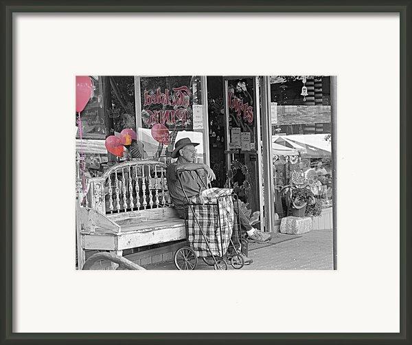 Tickled Pink Framed Print By Bartz Johnson