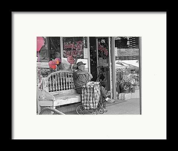 Tickled Pink Framed Print By Bartz Johnson