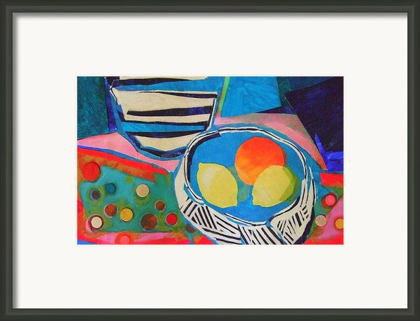 Tiddly Winks Framed Print By Diane Fine