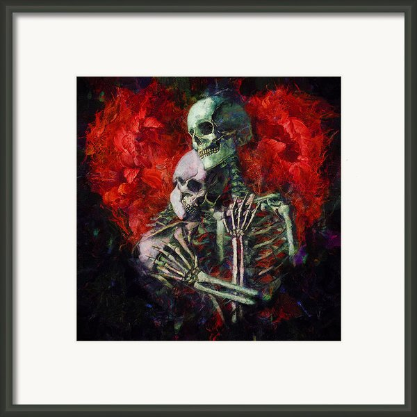 Til Death Framed Print By Christopher Lane