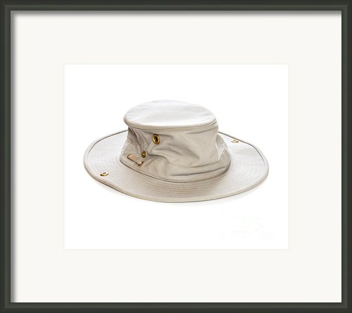 Tilley Hat Framed Print By Colin And Linda Mckie