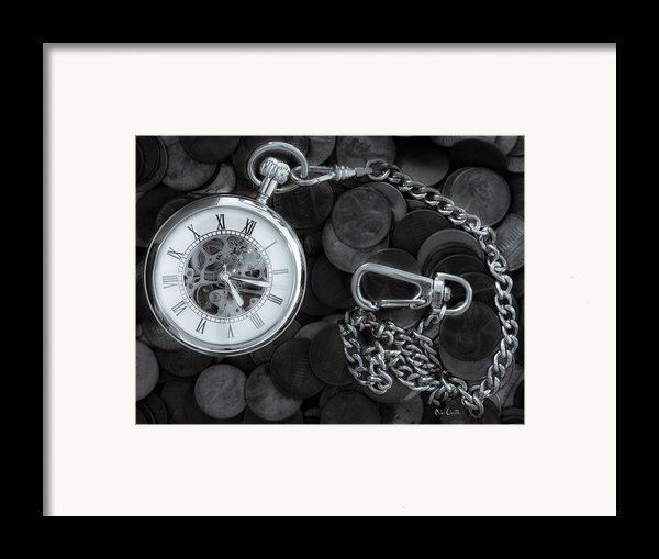 Time And Money Framed Print By Bob Orsillo
