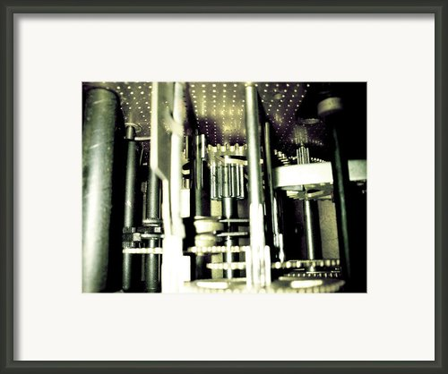 Time Framed Print By Lucy D
