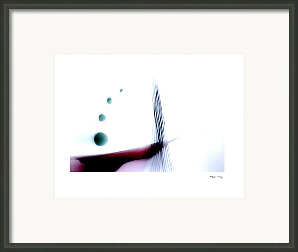 Time On A String 7 Framed Print By Xoanxo Cespon