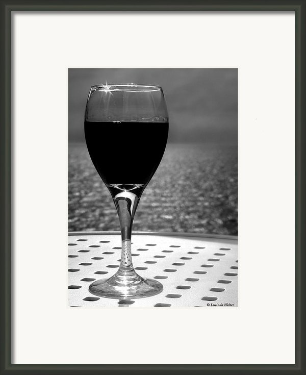 Time To Relax Framed Print By Lucinda Walter