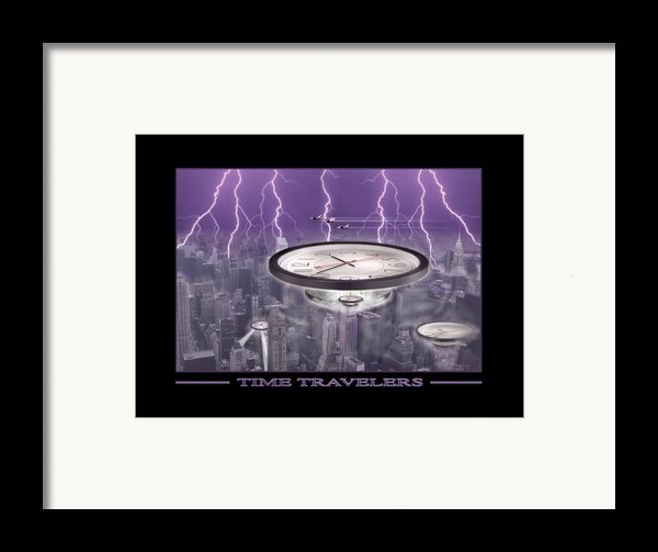 Time Travelers Framed Print By Mike Mcglothlen