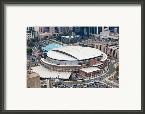 Time Warner Cable Arena Framed Print By Bill Cobb