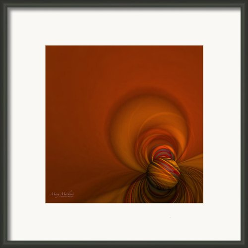 Time Warp Framed Print By Mary Machare