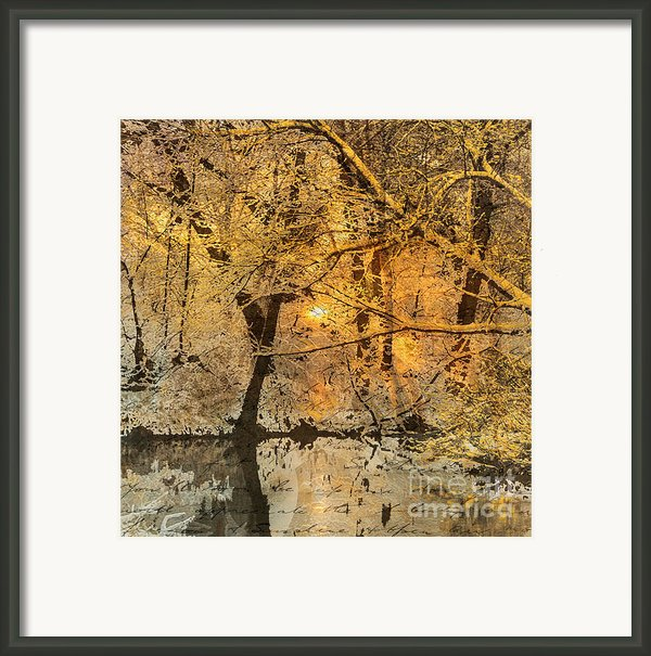 Time Framed Print By Yanni Theodorou