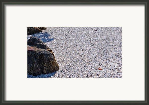 Timeless Zen Framed Print By Joy Hardee