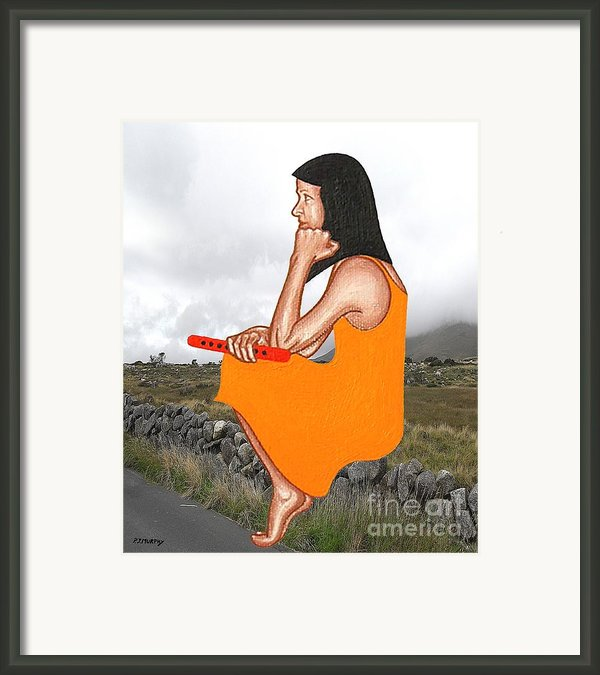 Tin Whistle 1 Framed Print By Patrick J Murphy