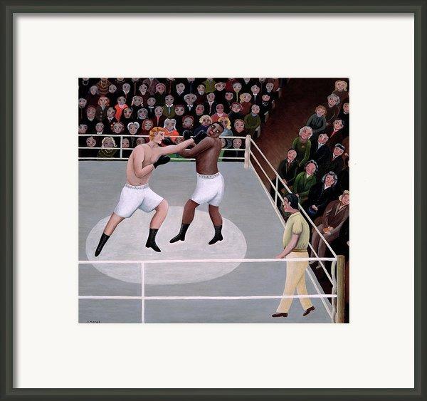 Title Fight Framed Print By Jerzy Marek