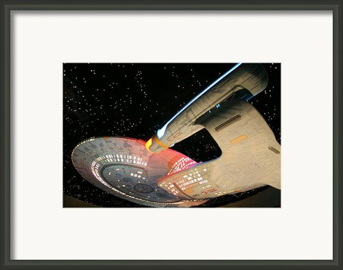 To Boldly Go Framed Print By Kristin Elmquist