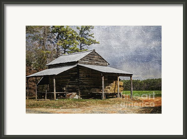 Tobacco Barn In North Carolina Framed Print By Benanne Stiens